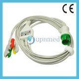 5 latiguillos de Spacelabs Cable de ECG con derivaciones
