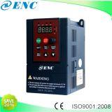 Convertidor de frecuencia mini pantalla VFD AC Drive para motor trifásico 1pH 220V 2CV