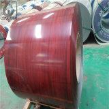 el color del espesor PPGI de 0.4m m pintado galvanizó la bobina de acero