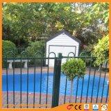 ループ上の庭の塀のプールの塀