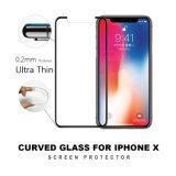 Commande numérique par ordinateur ultra mince du marché 0.2mm des États-Unis découpant le protecteur d'écran en verre Tempered de téléphone mobile pour l'iPhone X 8 7 6 5 positifs