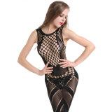 Оптовая торговля высокая эластичность плюс размер Sexy Женское нижнее бельё Bodystocking BS8879