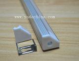 Canal de aluminio del aluminio del perfil LED de la cubierta de la tira de la alta calidad LED