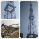 직류 전기를 통한 각 강철 안테나 세포 탑