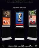 65 affichage à cristaux liquides tout de pouce 4K dans un PC TV avec le joueur de publicité multiple de contact infrarouge