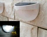 지적인 태양 밤 빛 재충전용 정원 담 빛 광도 LED 옥외 벽 램프