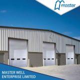 Acier galvanisé les frais généraux de porte de garage sectionnelles industrielles / porte de garage automatique