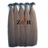 24 cores desenhadas naturais Cabelos Europeu Remy Ponta plana para cabelo Virgem de cabelo