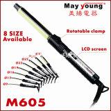 専門の熱い販売法LCDデジタルのヘア・カーラー(M605)