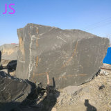 Bloc de granit naturel bon marché à la taille de coupe de matériaux de construction