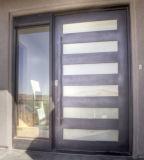 美しい現代デザイン外部の鉄の出入口