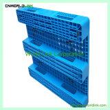 Gabelstapler-Ineinander greifen-Schienen-flache Plastikladeplatte für Speicherung