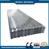 folhas de aço galvanizadas 0.25mm da telhadura do metal ondulado revestido do zinco