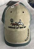 方法黒い刺繍の野球帽の切り込み
