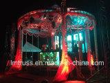 Iluminação de palco Exposição de alumínio Publicidade Truss