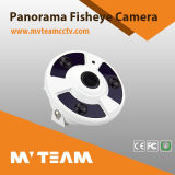 FisheyeのドームFisheyeレンズが付いている360度IPのカメラ