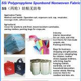 Usine non tissée de tissu de pp Spunbond