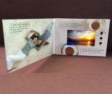 2,4-10,1 polegadas tela LCD cartão de vídeo personalizado para anúncio de carro