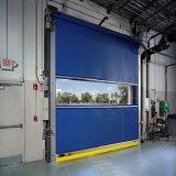 중국 빠른 활동 실내 고속 PVC 작업장 (HF-309)를 위한 플라스틱 회전 문