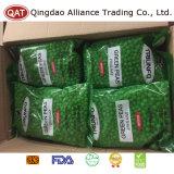 Замороженный зеленый горошек в картонную коробку для экспорта