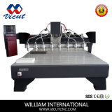 Самый лучший автомат для резки CNC Woodworking Multi-Головок Hotsale цены