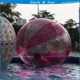 Bille de lumière de flottement de l'eau, l'eau gonflable de bille géante avec du ce