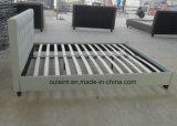 Ткань платформы две односпальные кровати спальня мебель (ПР)17165