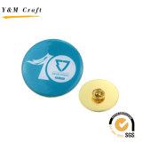 Diseño de nuevos metales Doming epoxi insignia de solapa con alta calidad