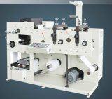 Machine d'impression de Flexo avec la station deux de découpage rotatoire