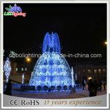 Asien-Weihnachtsbeleuchtung, versenkbare LED-Leuchten, Leuchten des Brunnen-LED