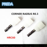 HRC60 Altin Coaed 코너 반경 비트 고품질