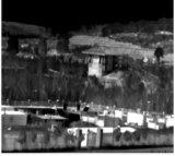 手の把握温度の測定の赤外線熱探知カメラ