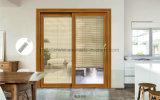 Entre el cristal motorizada eléctricamente las persianas para ventanas y puertas