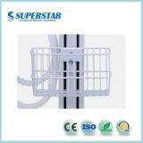100% Nuevo de la llegada de gama alta China máquina de anestesia con ventilador Dm6c para la clínica veterinaria