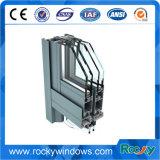 La construcción de la puerta de la extrusión de aluminio anodizado de Perfiles de la ventana