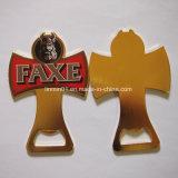 Promotional Gift를 위한 주문을 받아서 만들어진 Faxe Gold Metal Beer Bottle Opener