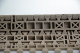 Tipo piano cinghia modulare di alta efficienza del trasportatore di plastica