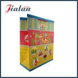 Подгоняйте мешок конфеты золота горячий штемпелюя напечатанный яркием блеском бумажный