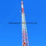 Стальных оцинкованных Telecom Guyed в корпусе Tower