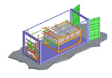 Block-Eis-Maschinen-Fischerboote der Verdampfungskühlung-20tons/Day