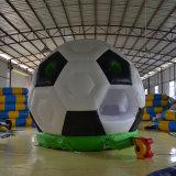 Aufblasbarer Fußball-federnd Schloss, damit Kinder spielen