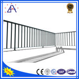 Загородка фабрики OEM/поручни анодированные оптовой продажей черные алюминиевые/ограждая