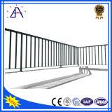 OEM Factory Wholesale Anodizado Black Aluminium Fence / Handrails / Fencing