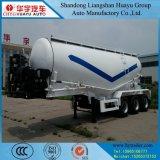 De Semi Aanhangwagen van de Tanker van het Vervoer van de bloem/van de Tarwe/van het Graan/van de Rijst met de Compressor van de Lucht