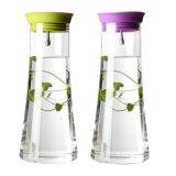 De Waterkruik van de Koffie van het Water van het Glas van de Waterkruik van het Glas van de Kruik van het Glas van de Fabrikant van het Glas van Borosilicate