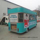 Praça de móveis de alta qualidade Sorvete Trailer alimentar