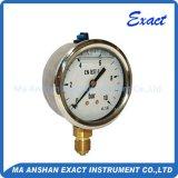 El uso normal en el manómetro de aceite hidráulico837