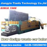 Machine de conditionnement de déchets de métaux hydrauliques à compresseur de ferraille