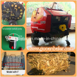Pto Drivedの干し草の梱包機の収穫機Uesd販売のためのほとんどの普及したマツわらの梱包機