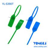 Descartável ajustável com vedação plástica de segurança de inserção metálica (YL-S390T)